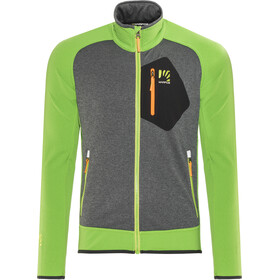 Karpos Odle Fleece Jas Heren, apple green/dark grey